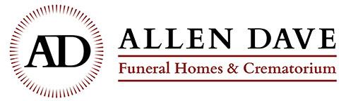 Allen dave 2016 logo in white