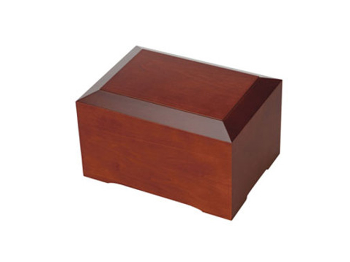 Cinnamon brown urn