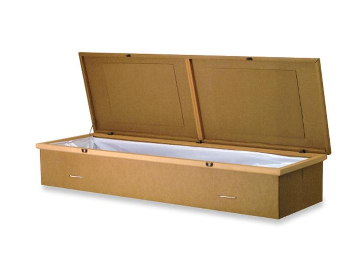 Utility cremation casket