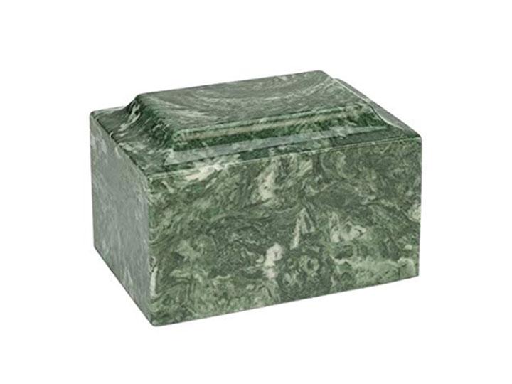 Classic cultured marble urn
