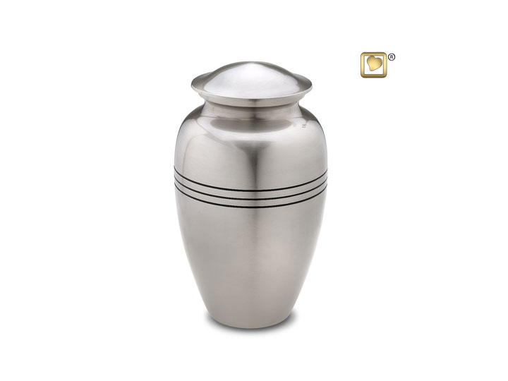 Classic radiance pewter loveurns
