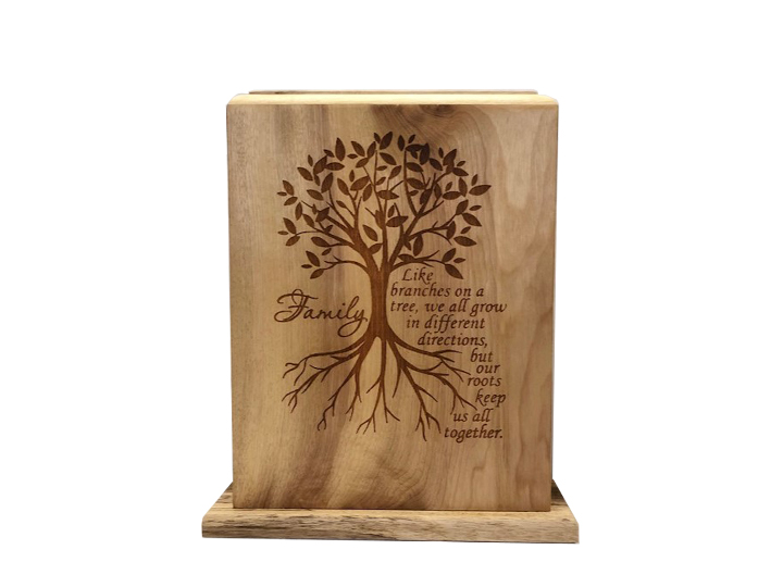 Family roots urn