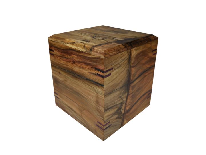 Pistachio cube urn