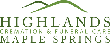 Highlands cremation funeral care maple springs logo