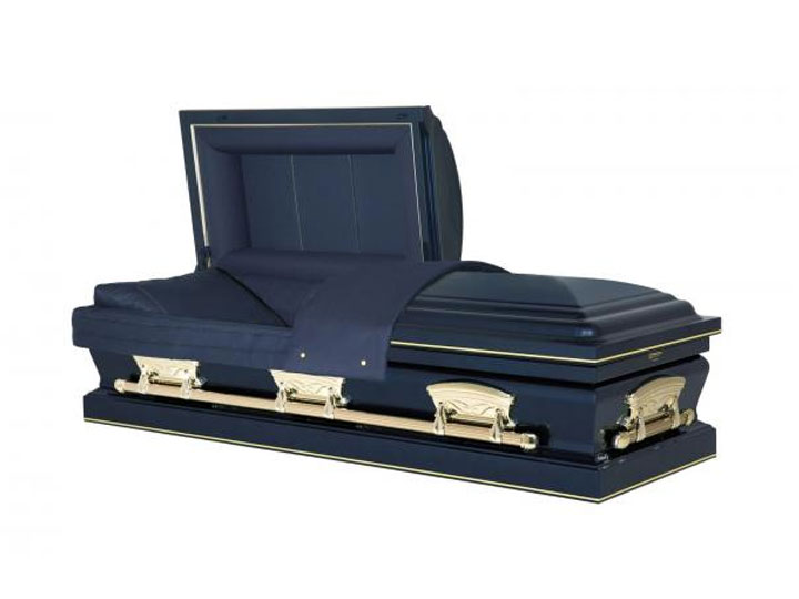 Freedom midnight burial casket