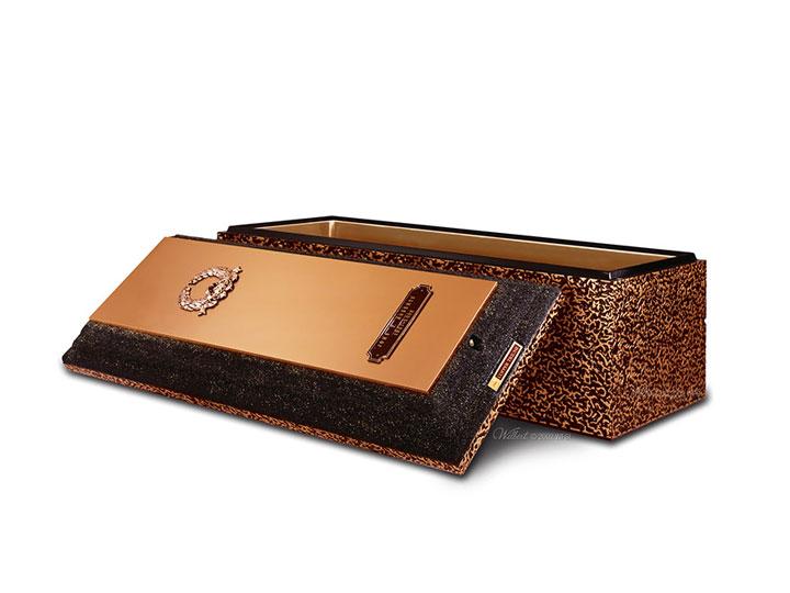 Wilbert copper triune vault