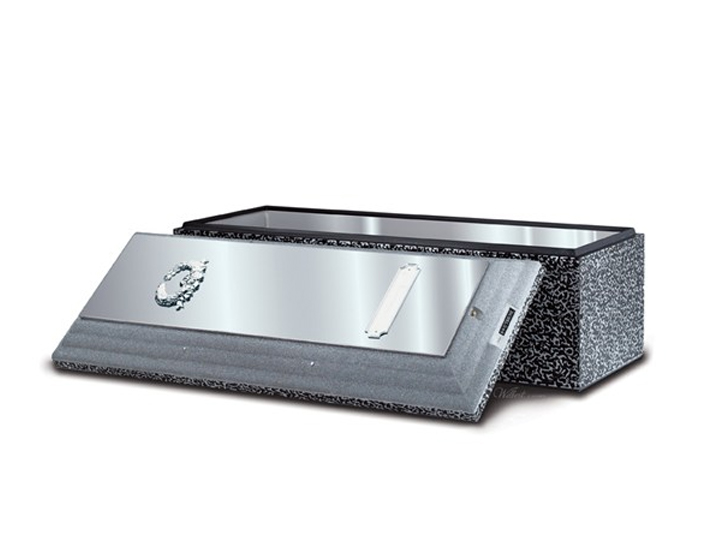 Wilbert stainless steel triune vault