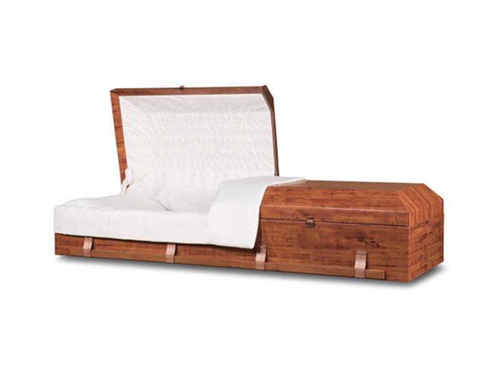 Emerson sienna cremation casket