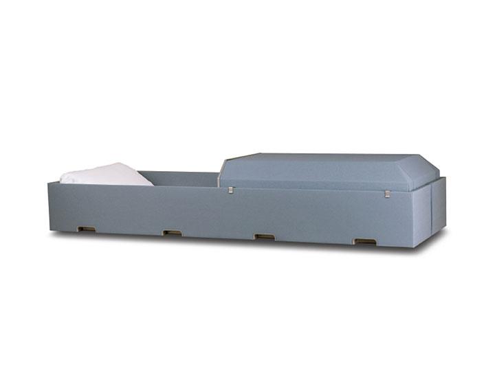 Harmony cremation casket blue