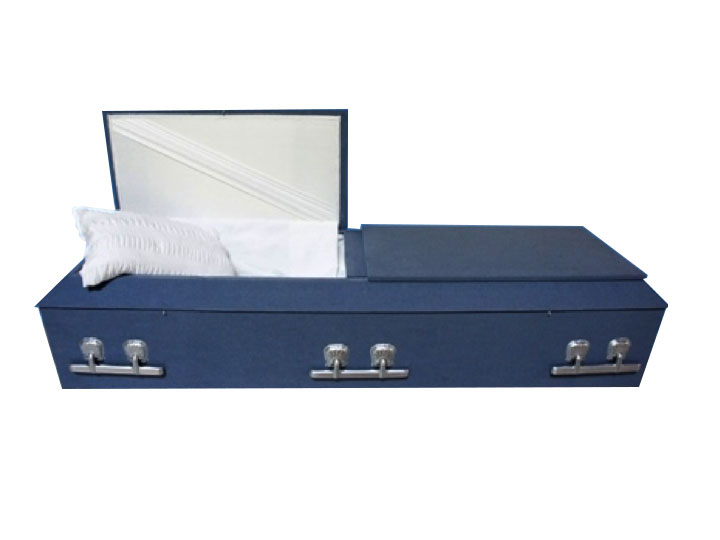 30 lamb steel cremation casket