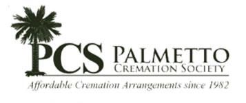 Palmetto cremation society logo