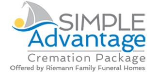 Simple advantage cremation logo
