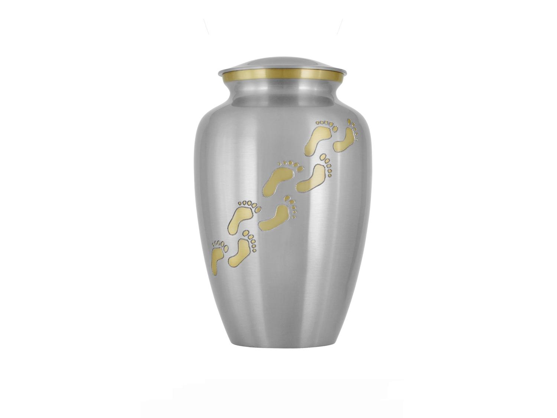 Lifes journey brass urn