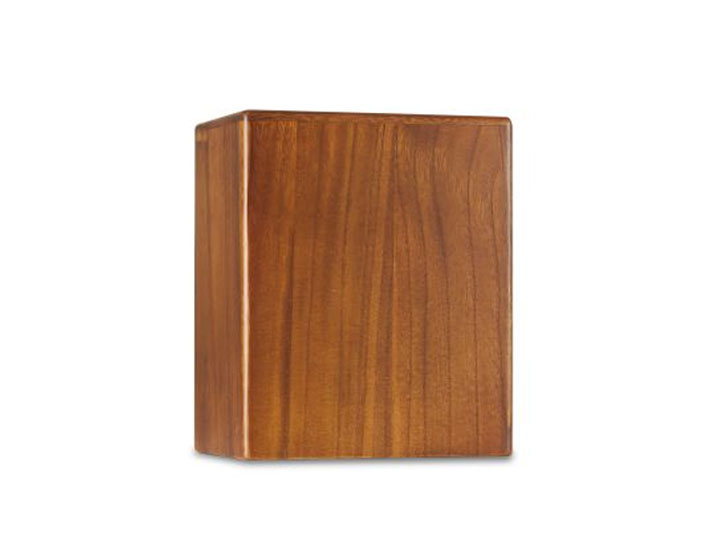 Sansa large wood urn1