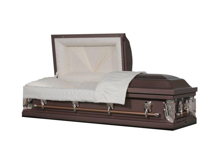 Essex bronze cremation casket