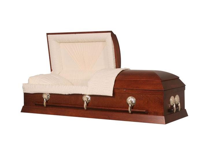 Westward cremation casket
