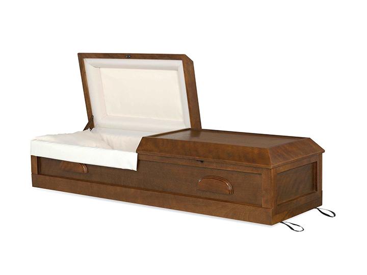 Georgian cremation casket