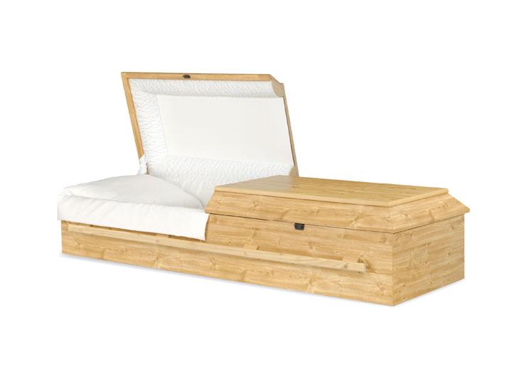 Norfolk pine cremation casket
