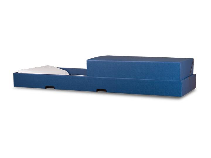 Transporter blue casket